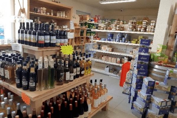 Local épicerie vente de produits locaux