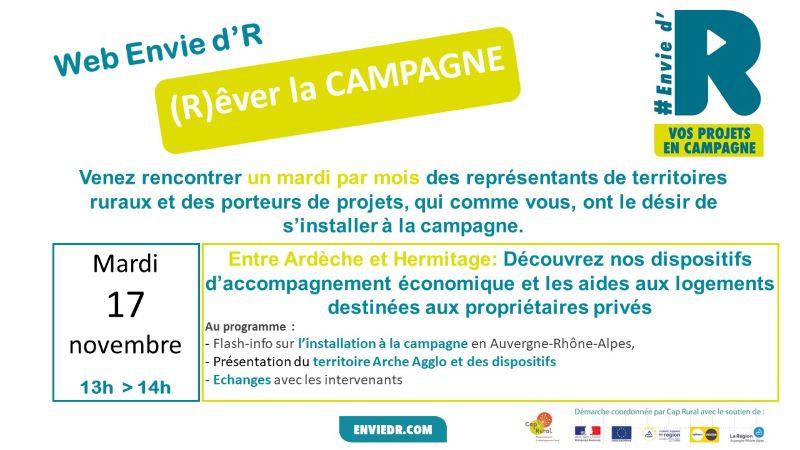 REver la Campagne en Drome Ardèche